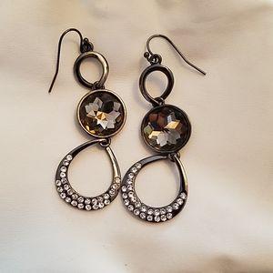 Hematite Dangling Earings